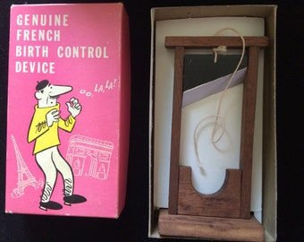 Genuine French Birth Control Device, 1969