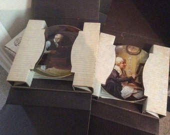 Lot of 20 Norman Rockwell Plates