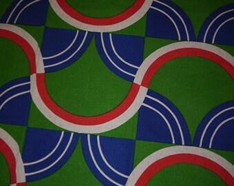 Fabric - 60s - Space Age -Geometric - Sweden - RETRO -