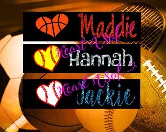 Sports Headband, Soccer, Basketball, Softball, Baseball, Cheer, Track, Tennis, Karate, Volleyball, Pack of 13