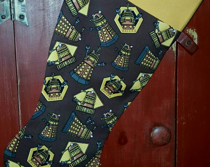 Dalek Christmas Stocking