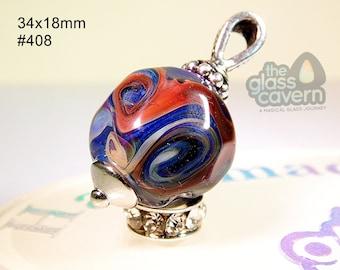 Handmade Borosilicate Glass Pendant