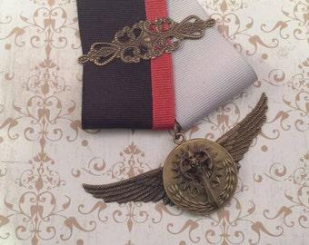 Steampunk Uniform Medal FREE SHIPPING