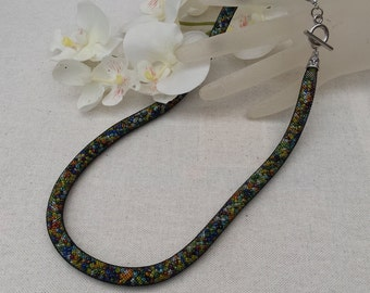 Power tube necklace