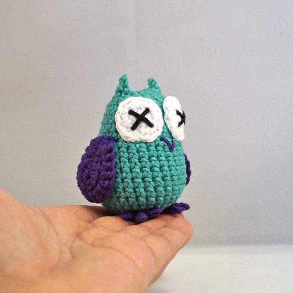 Medium Crocheted Owl