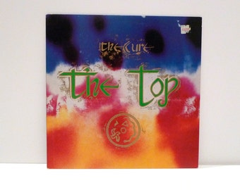 The Cure Band Vintage Vinyl Record The Top LP Caterpillar Shake Dog Shake Dressing Up 10 Songs Robert Smith New Wave Goth 1980s
