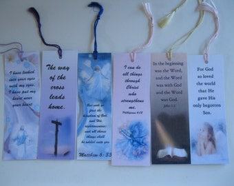 6 Different Handmade Religious Bookmarks
