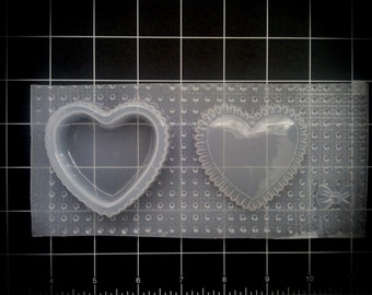 Heart Trinket Box Stash box Resin Mold