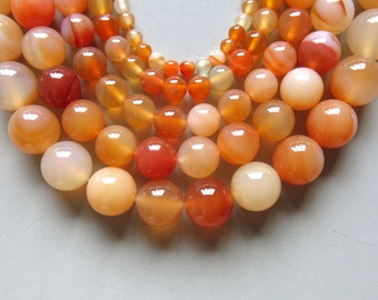 Full Strand 15inches Agate Round Beads - A512