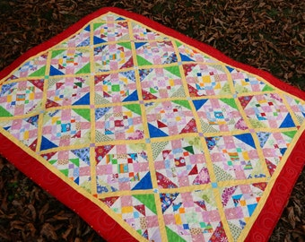 Bright Multi-Color Quilt