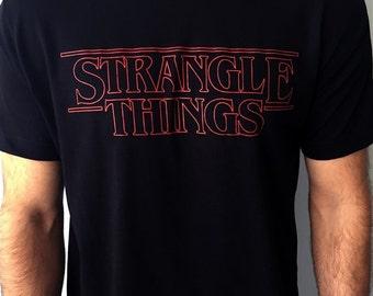 """Toro BJJ """"STRANGLE THINGS"""" t-shirt"""