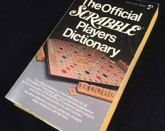 The Official Scrabble Players Dictionary, 1978