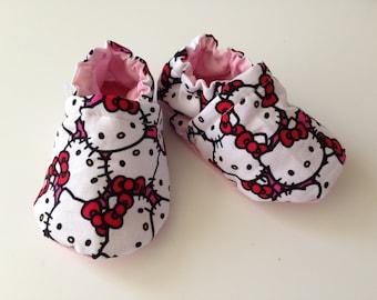 Hello Kitty Cotton Booties