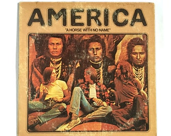 "America - Self Titled including ""A Horse with no Name"" // Vintage Vinyl Record Album LP Roots Rock"