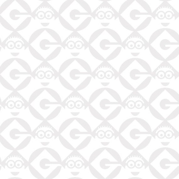 One in a Minion - Blender White Minions Fabric