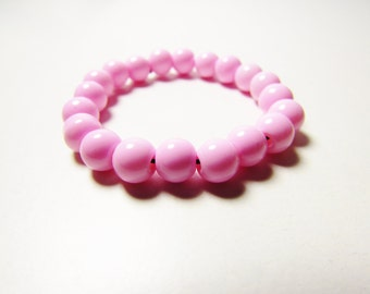 D-00911 - 20 Glass beads 6mm Rose