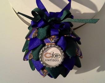 Los Angeles Raiders Christmas Ornament
