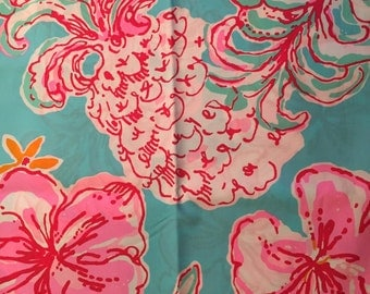 Zuzek fabric etsy for Lilly pulitzer sorority letters