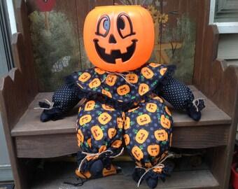 Adorable Pumpkin Doll