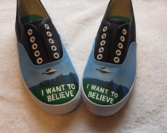 X Files: I want to believe shoes