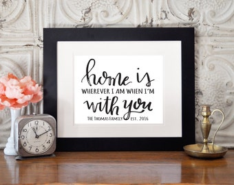 Home is Print