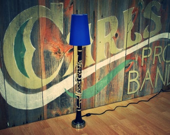 Clarinet Lamp Musical Instrument Lamp Desk Lamp