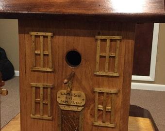 Custom Wedding Card Box Birdhouse