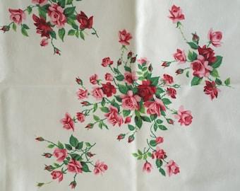 Vintage 1950s Tablecloth