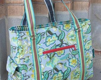 Sloan Travel Bag PDF sewing pattern