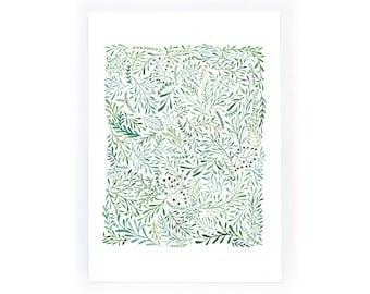 Leaf Pattern - archival art print