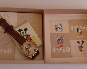 Rare Fossil DS-428 Commemorative 1928 Mickey Mouse Charaacter Watch Lot
