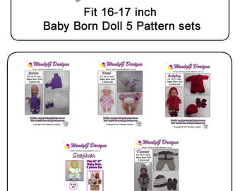 Baby Born Pattern Book 2