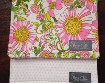 Burp Cloth Set of 3 - Pink