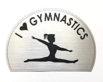 Girl's Gymnastics Magnet
