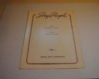 Deep Purple/Vintage Sheet Music