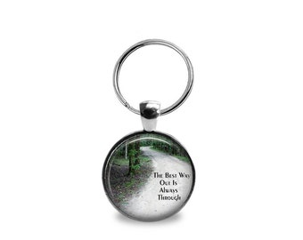 Through the Woods Pendant or Keychain