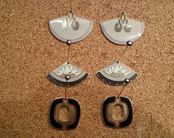 Vintage Laurel Burch earrings