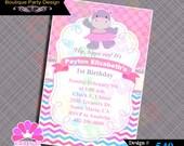 CUSTOM ORDER pink Hippo