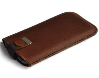 Brown Huawei Union Mate P9 P8 Lite Plus S 8 G8 Y5 Sleeve Genuine Leather Case Magnetic Flap for Closure of Pouch Cover