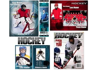 """Hockey """"Impact"""" Templates"""