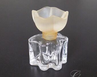 Vintage miniature Oscar de la Renta perfume glass bottle vial