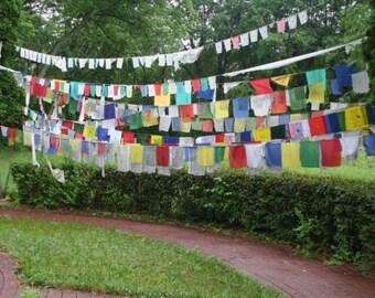 Tibetan Prayer Flags 2 Sizes Available