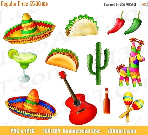 Mexican Party Invite with awesome invitation template