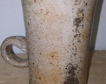 Wood fired mug, ceramic mug, 12oz mug