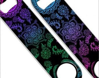 Colorful Henna Speed Bottle Opener