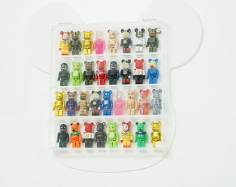 White Wall Hanging Display Case for bearbrick