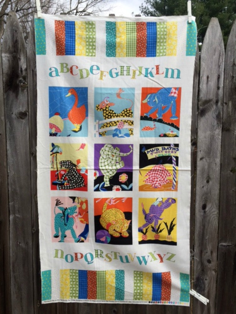Patchwork Pals Baby Quilt Fabric Panel By Moomettescrochet