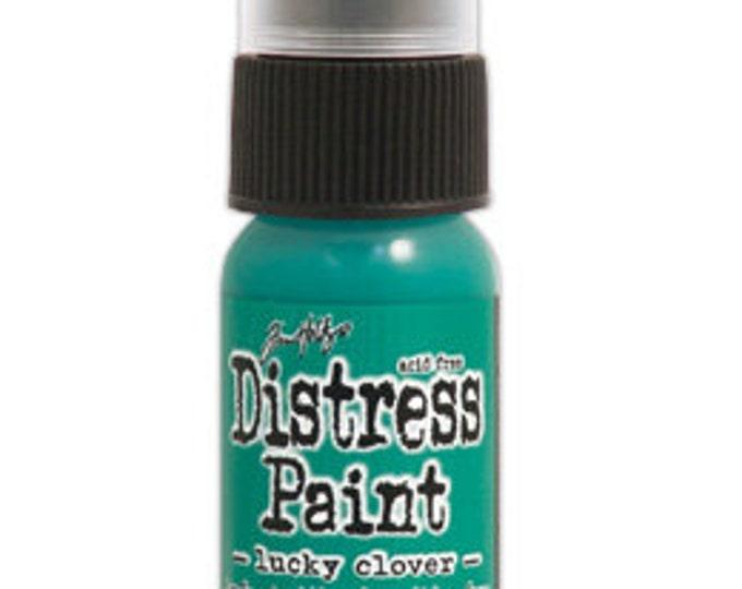 Tim Holtz Green Distress Paint Dabber - Lucky Clover - November 2015