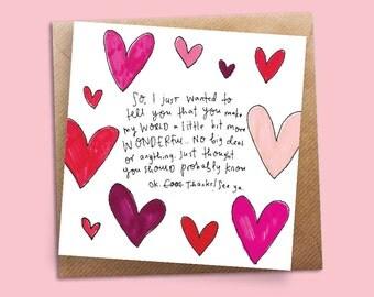 Love/Valentines kinda Greeting Card