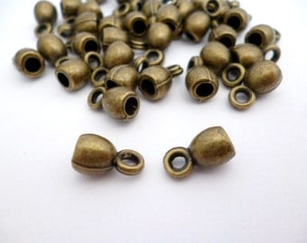 Solid Brass End Cap of 3 mm_PP015521470023_Ends_Bronze of 3 mm_pack 30 pcs